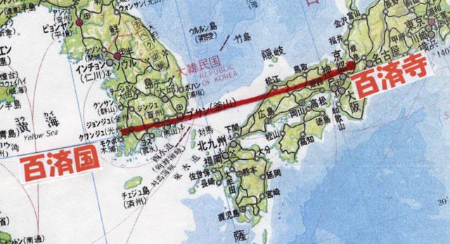 北緯35度線上の奇跡的配置